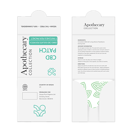 Apothecary Collection CBD Patches